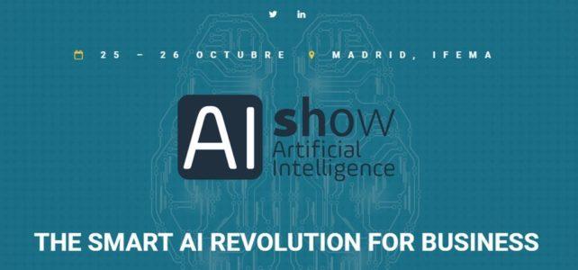AIshow, el evento de Inteligencia Artificial, llega a Madrid