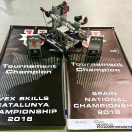 El equipo de robótica ARLO solicita ayuda para participar en la competición mundial 2018 VEX Worlds