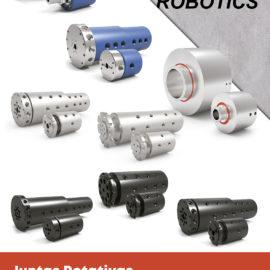 Junta rotativa para paso de neumática – fluidos y colectores eléctricos