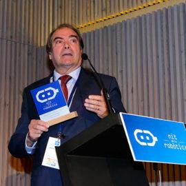 """Miquel Seriola Rodas, premio """"Nit de la Robòtica"""" 2018"""