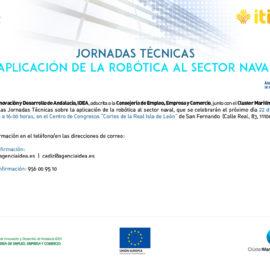 Jornadas técnicas sobre la aplicación de la robótica al sector naval