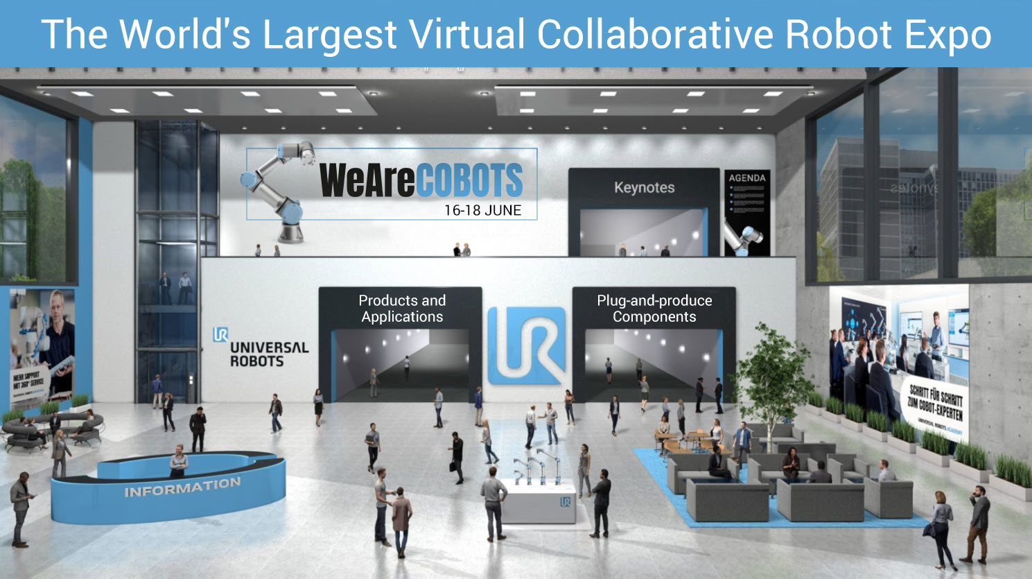 Cobot Exference Entrance Hall New3