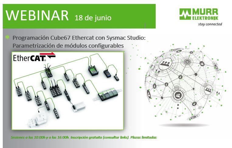 Webinar Cube57 Sysmac