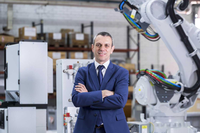 Sergio Martin, gerente de Robótica de ABB en España