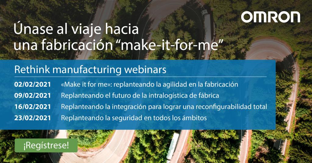 1st Post Linkedin Webinar Rethink Manufacturing V1