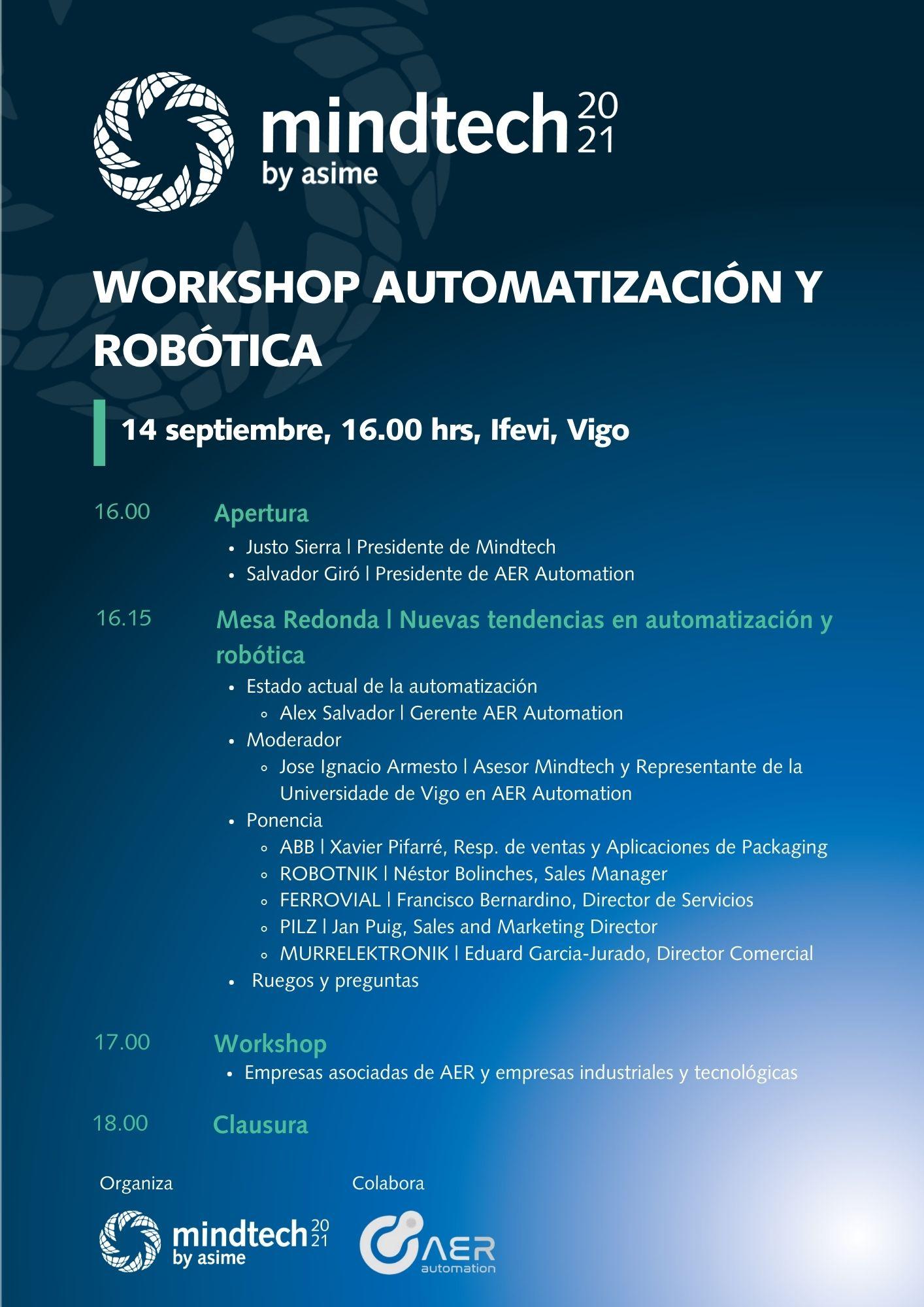 Workshop AutomatizaciÓn Y Robotica