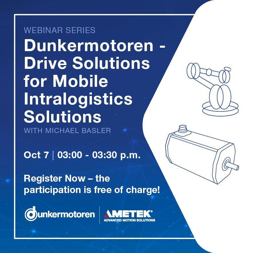 Dunkermotoren Mobile Intralogistics Solutions